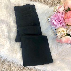 Frame Forever Karlie Flare Jeans in Black